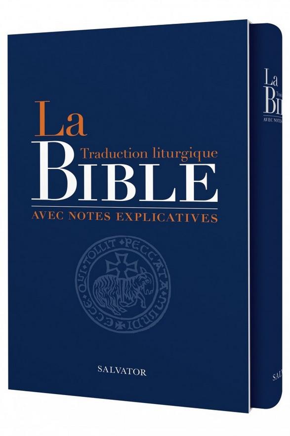 Photo de la nouvelle traduction de la Bible qui vient de sortir aux Éditions Salvator