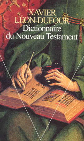 Page de couverture du dictionnaire du Nouveau Testament